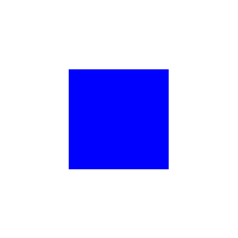 square—blue