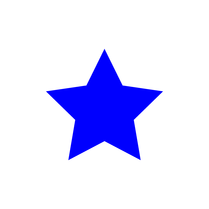 star—blue